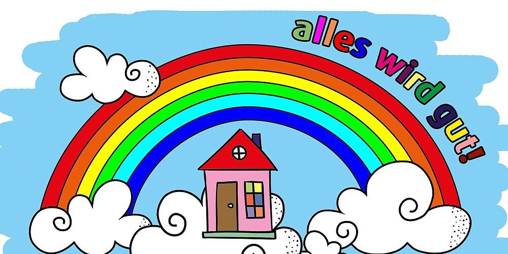 Wir Bleiben Zu Hause Regenbogen Pdf